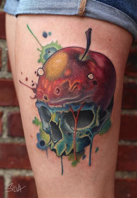 teacher tattoo custom by marvin silva tattoos
