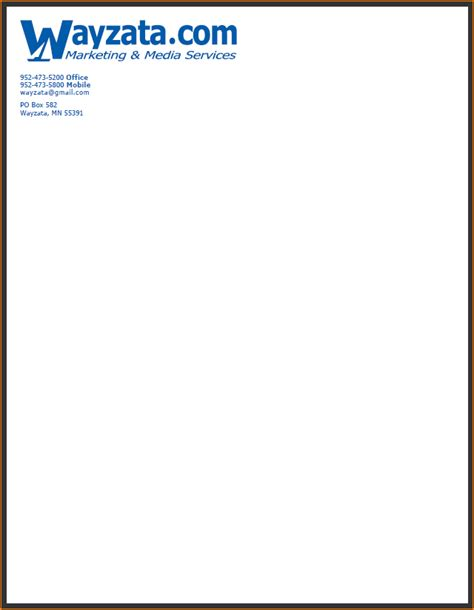 Business Letter Format Using Letterhead business letter format using company letterhead 28