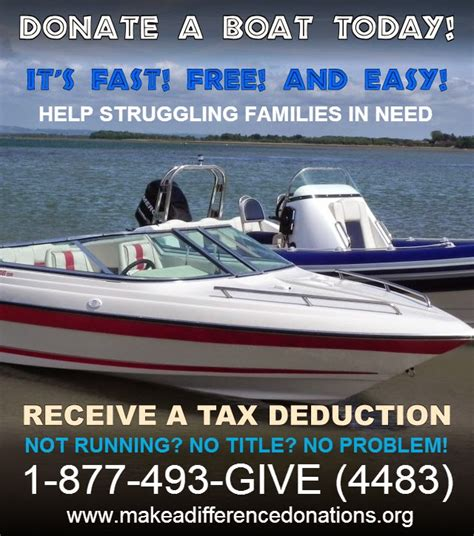 donate boat u s a tax deduction boat donation los angeles - How To Make A Boat Tax Deductible
