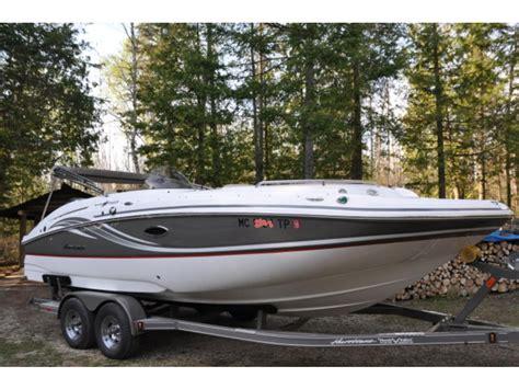 hurricane boats for sale in michigan 2013 hurricane ss 220 powerboat for sale in michigan
