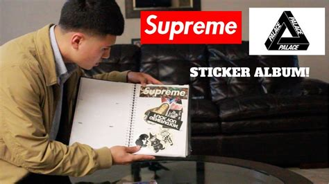 Supreme With Your what to do with your supreme and palace stickers