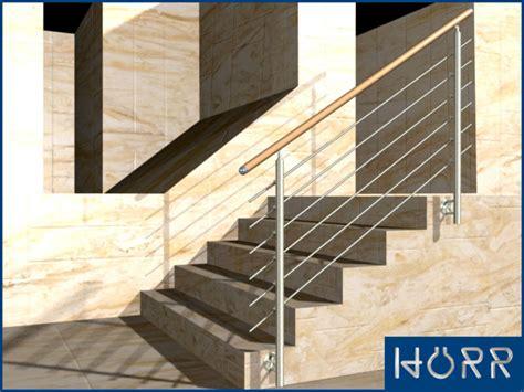 handlauf treppe innen 1m edelstahl gel 228 nder treppe wange rundstab holz buche
