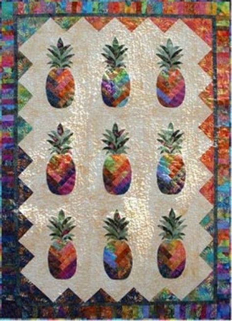 Pineapple Patchwork - pineapple by vicki stratton