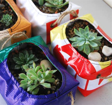 how to make cool planters from recycled materials one the 40 most creative diy planters planters gardens and