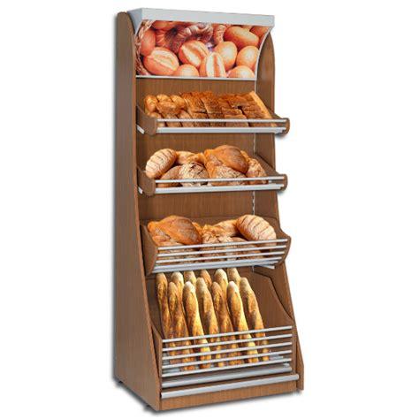 Shelf Of Bread by Wooden Bread Bakery Display Max Shelf Ltd