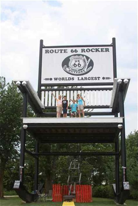largest rocking chair picture at the rocker day cuba missouri cuba mo