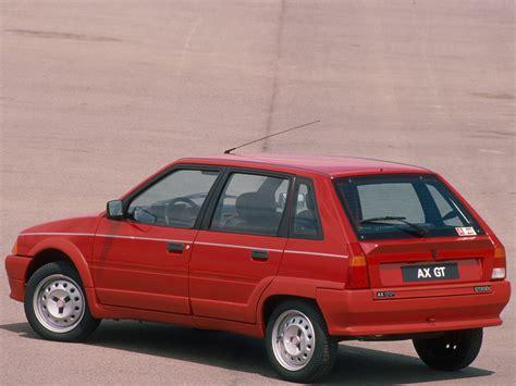 citroen ax 5 doors specs 1988 1989 1990 1991 autoevolution