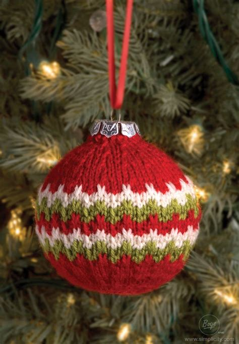top 25 best knit christmas ornaments ideas on pinterest