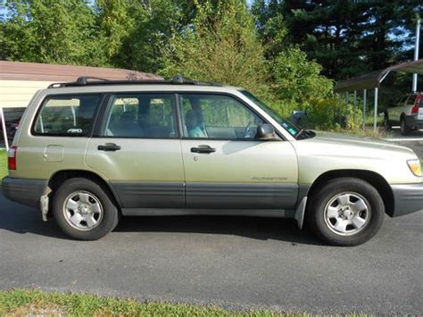 how to work on cars 2001 subaru forester parental controls sell used 2001 subaru forester awd good on gas commuter in jewett city connecticut united