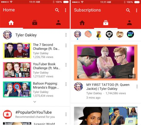 youtube ios layout users pummel youtube s ios update with one star reviews