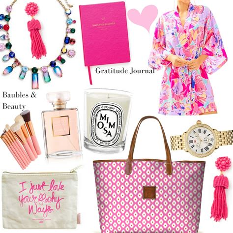 pink christmas gift guide