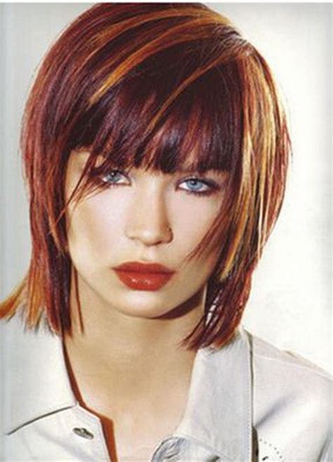 les couleurs de cheveux cheveux roux tendances et colorations coupe et couleur de cheveux