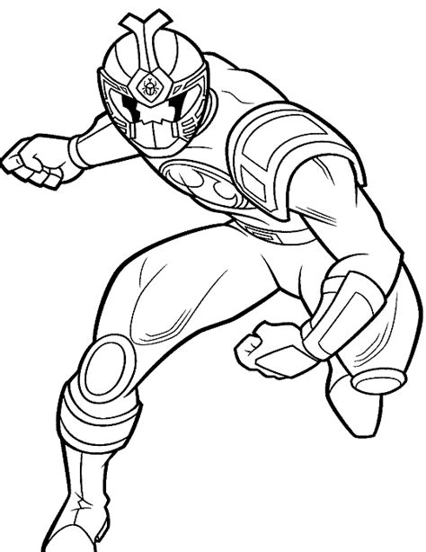 free coloring pages of power rangers ninja
