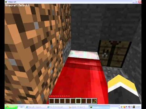 how do you craft a bed in minecraft minecraft how to make a bed youtube