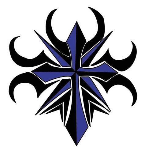 tribal cross tattoo design best 25 tribal cross tattoos ideas on cross