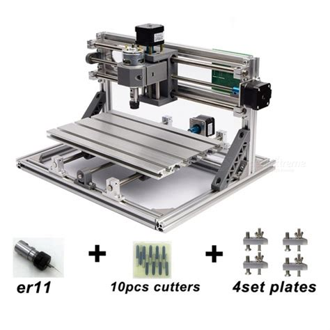Mini Router Bolt cnc3018 with er11 diy mini cnc engraving machine laser engraving pcb pvc milling machine wood