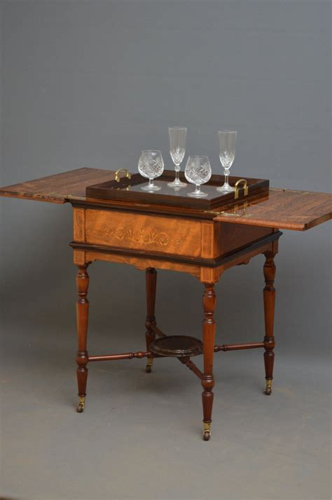 drinks table edwardian rosewood drinks table antiques atlas