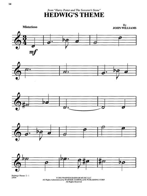 education theme music image result for sheet music for hedwig s theme on
