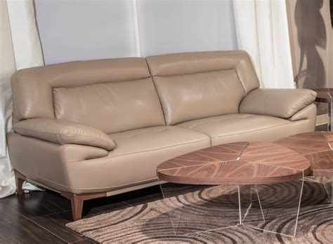 aico sofas aico mia bella turano sofa light walnut