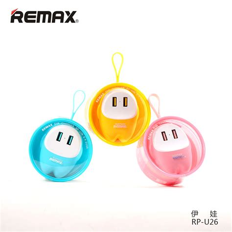 Remax Car Charger 2 Usb 2 4 remax lovely 2 usb adapter charger 2 4a rp u26 pink