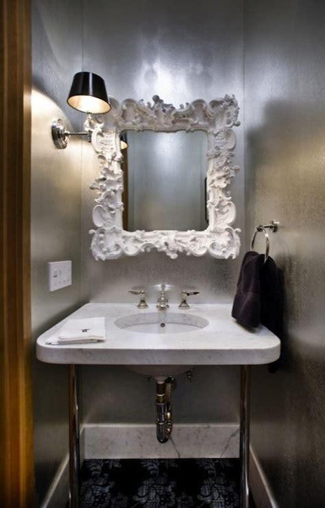 baroque bathroom accessories baroque mirror contemporary bathroom real rooms design