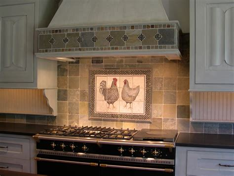 ceramic tile mural backsplash contemporary decorating