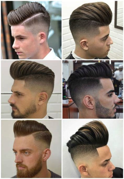 types of pompadours 27 best fade hairstyle images on pinterest types of