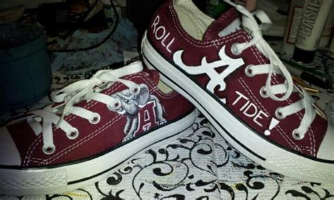alabama converse shoes alabama converse roll tide