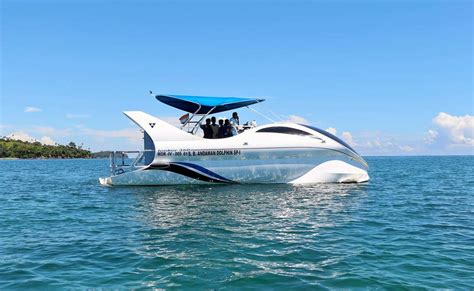 glass bottom boat dolphin tours dolphin glass bottom boat ride in andaman thrillophilia