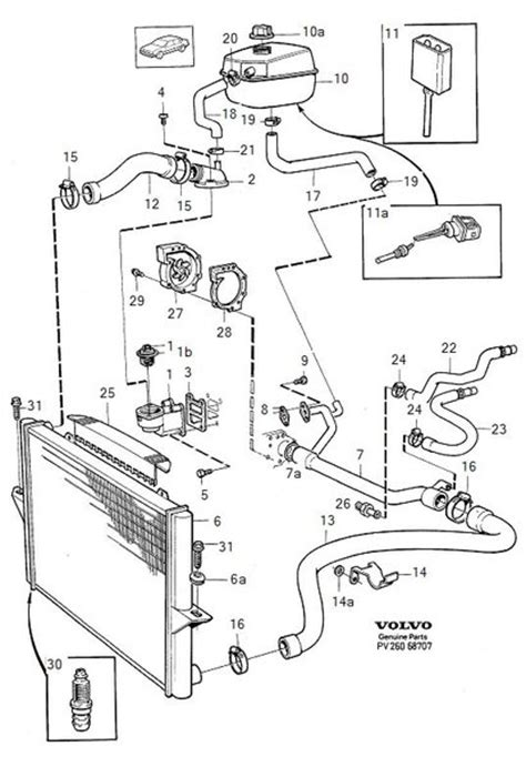 volvo 940 coolant parts diagram imageresizertool