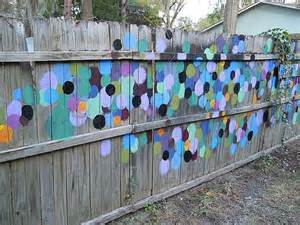 best 25 fence painting ideas on fence