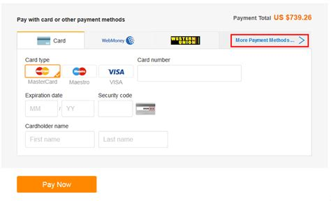 aliexpress payment alibaba com help center