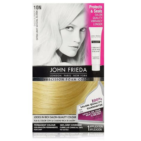 foam hair color frieda precision foam hair color light