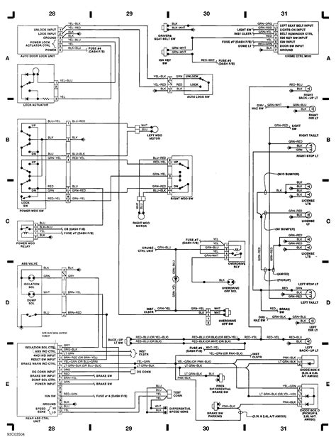 on line wiring diagram and wiring harness layout for 92