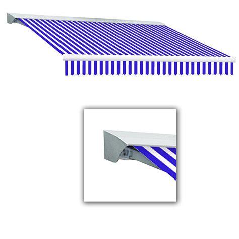 Awntech Awnings Awntech 20 Ft Lx Destin With Hood Manual Retractable