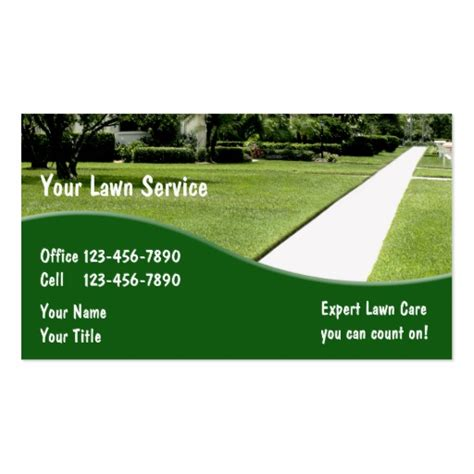 Landscaping Business Card Templates Bizcardstudio Landscaping Business Template