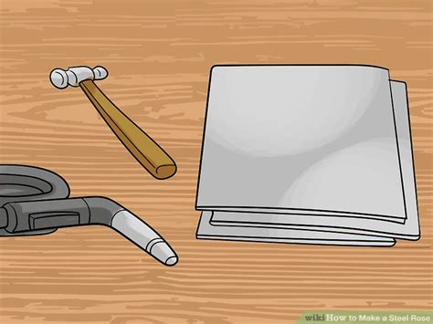 forged template how to make a steel 9 steps with pictures wikihow