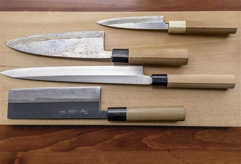 used kitchen knives hone your knowledge of japanese kitchen knives the