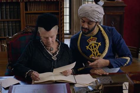 film queen and abdul watch the first trailer for victoria and abdul
