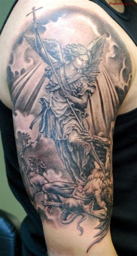 angel and devil tattoo 85 best tattoos images on
