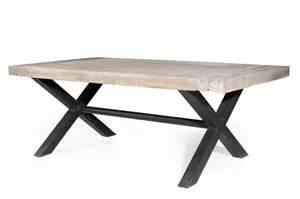 table a fer forge et bois