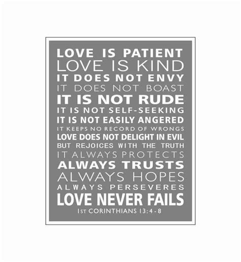 printable version of love is patient typography 1st corinthians 13 love is patient christian