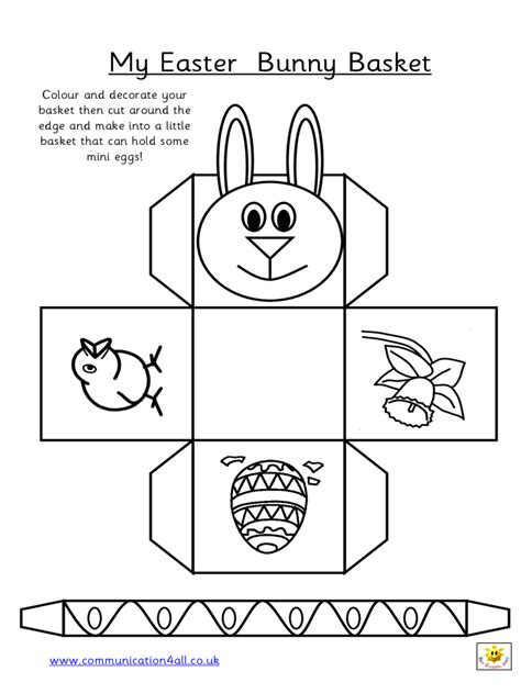 free printable easter baskets templates easter basket template 9 free templates in pdf word