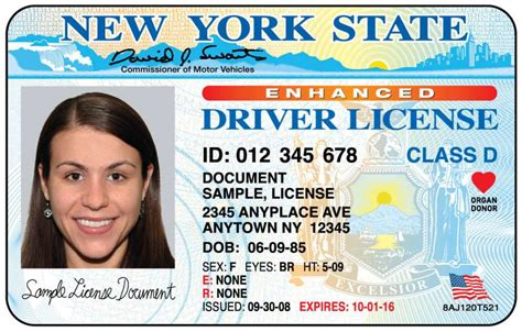 florida id card template would make new york motorists update drivers license