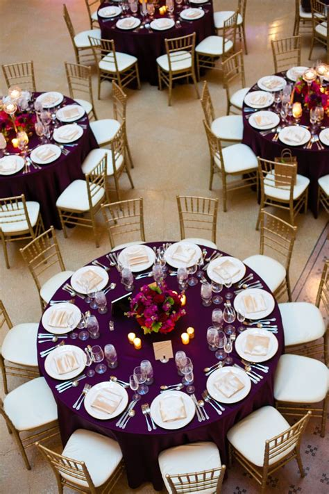 Day 6 Table Settings As 25 best ideas about purple table settings on