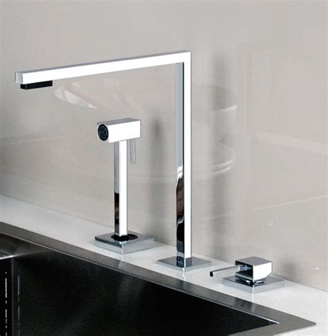 Gessi Kitchen Faucet Minimal Faucet For Kitchen By Gessi Minimo