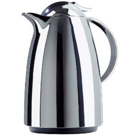 Emsa Basic Vacuum Jug Black 1 5 L emsa emsa auberge tip vacuum jug chrome エムザ オウバージュ
