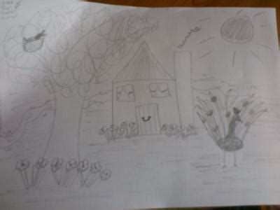 House Tree Person Drawing Interpretation by Activity 2 House Tree Sun Water Animal Drawing