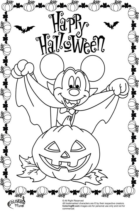 mickey mouse coloring pages for halloween minnie and mickey mouse coloring pages for halloween