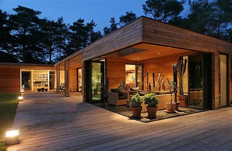 casa madera moderna moderna casa de madera arquitecto johan sundberg suecia